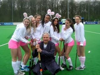 Playboy Bunnies met Playing Coach
